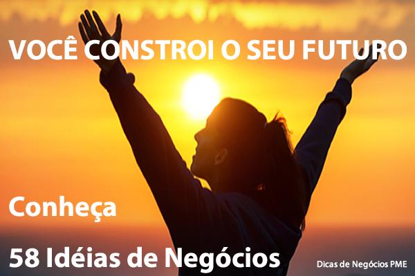 58 IDEIAS DE NEGÓCIOS PROPRIOS, LUCRATIVOS PRA ABRIR COM POUCO DINHEIRO