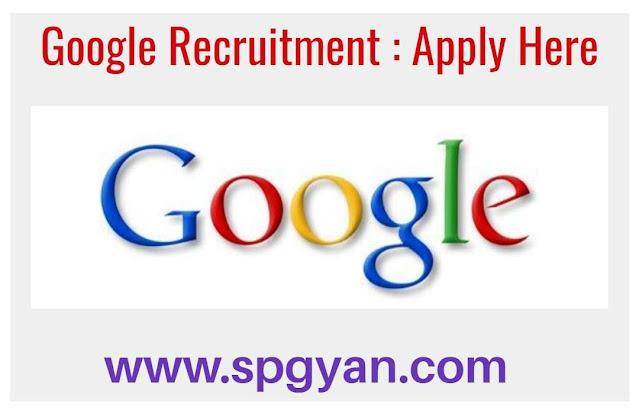 Google Recruitment 2020