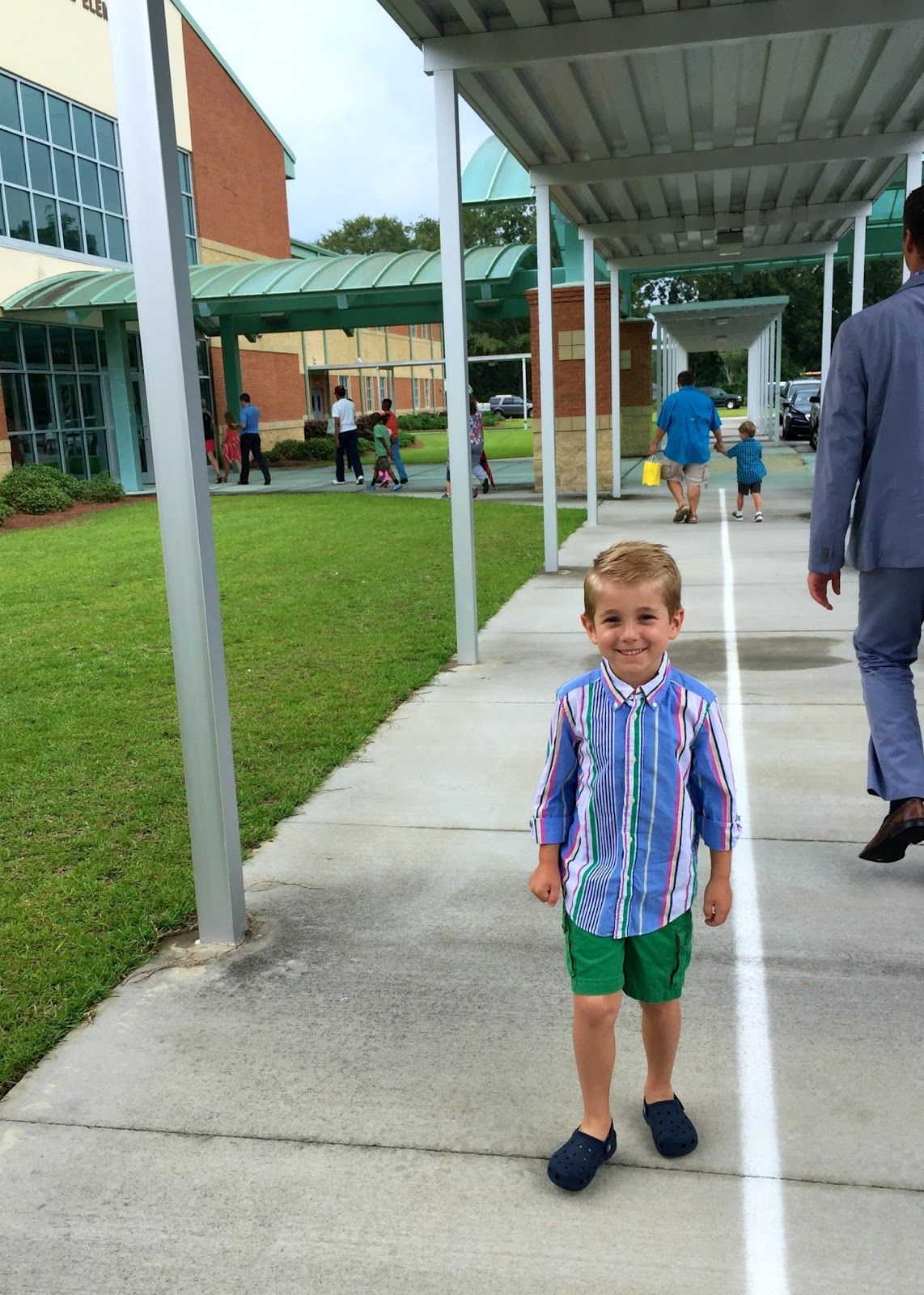 Kye's First Day of First Grade
