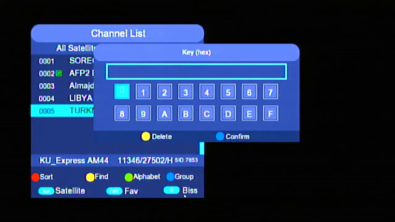 DIRECT BISS KEY OPTION IN WEZONE 8007 CLAN 8007 1506TV NEW SOFTWARE
