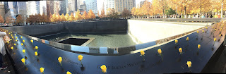 David Brodosi visits The new World Trade Center and 9/11 Memorial