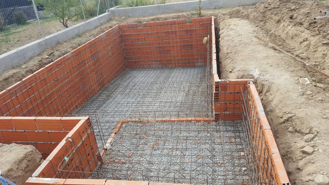 Piscinas doru estructura para piscinas for Estructura para piscina