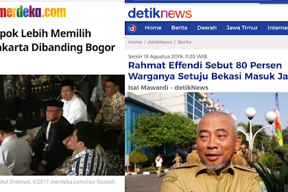 Anies Baswedan Heran, Bekasi dan Depok Ingin Gabung Jakarta