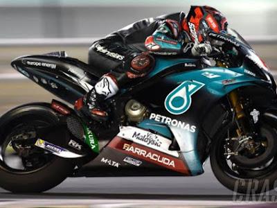 Hasil MotoGP Inggris: Quartararo Tercepat FP1