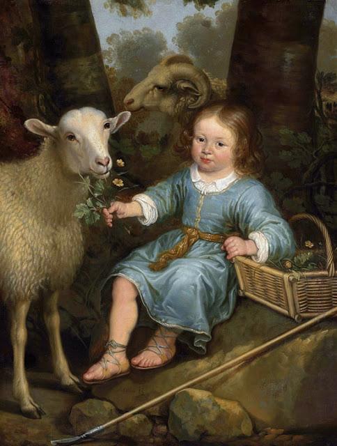 Альберт Кёйп - Портрет мальчика (принц Виллем III Оранский в детстве). 1655-60