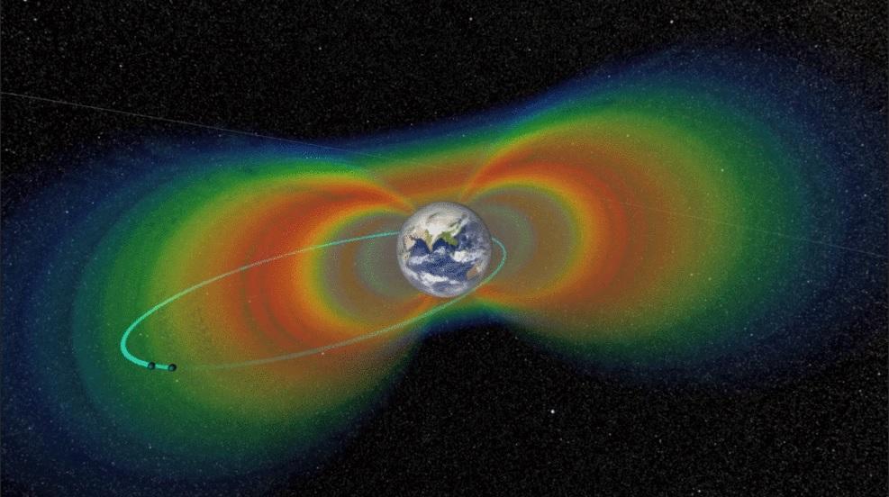 شتابدهنده غولپیکر در فضای نزدیک زمین