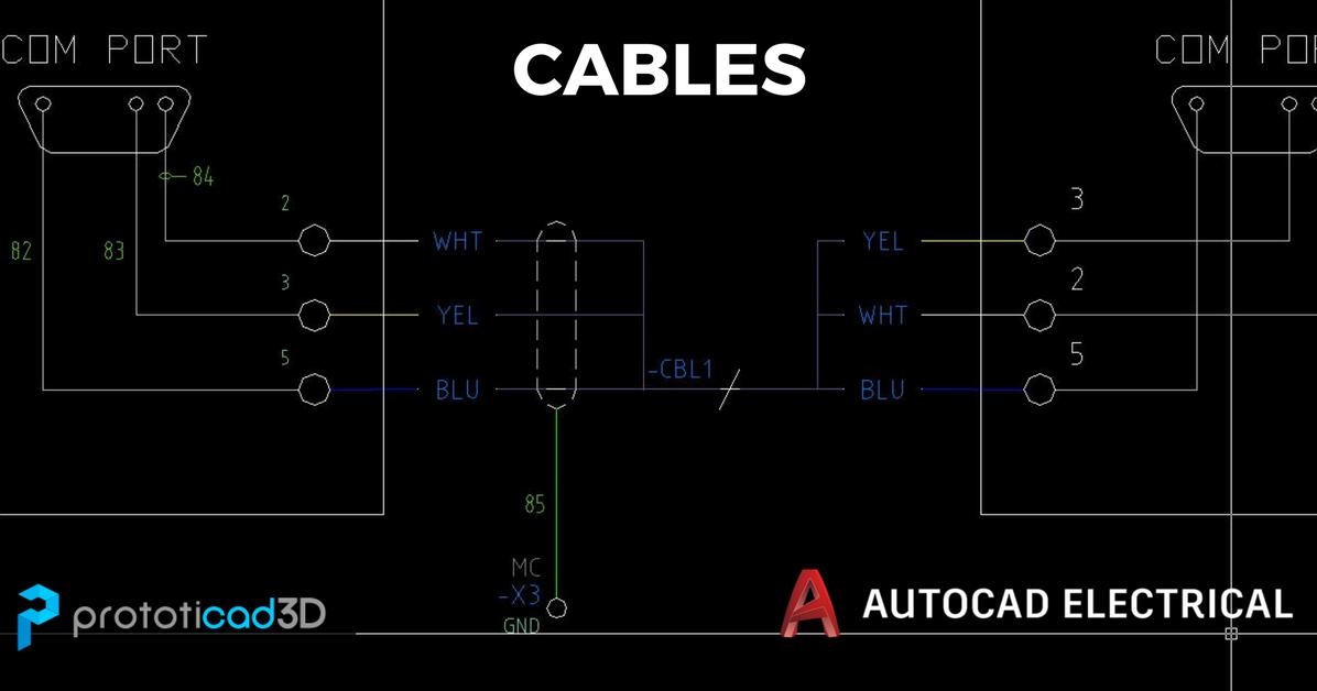 Acerca De Los Cables En Autocad Electrical Prototicad 3d Prototipos Digitales
