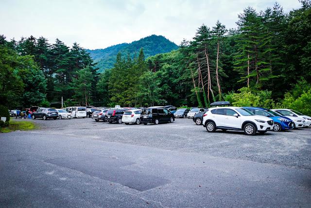 有明山神社 駐車場