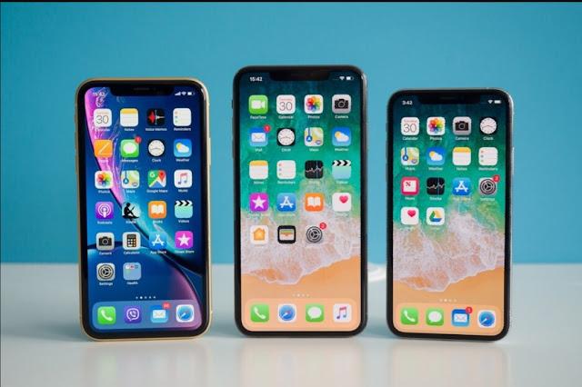 أجهزةiPhone XSو XS Max و XR