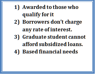 Subsidized Loans