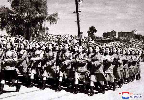 DPRK women during the Fatherland Liberation War (1950-1953)