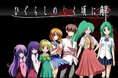 """Horror anime """"Higurashi no Naku Koro ni"""""""
