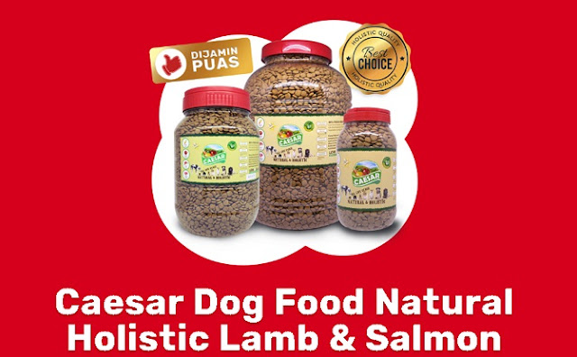 Caesar Dog Food Natural Holistic Lamb & Salmon