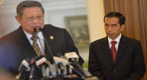 ANAK SMP Ada yang Menghalangi Jokowi Bertemu SBY