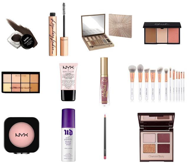 Current Makeup Wishlist