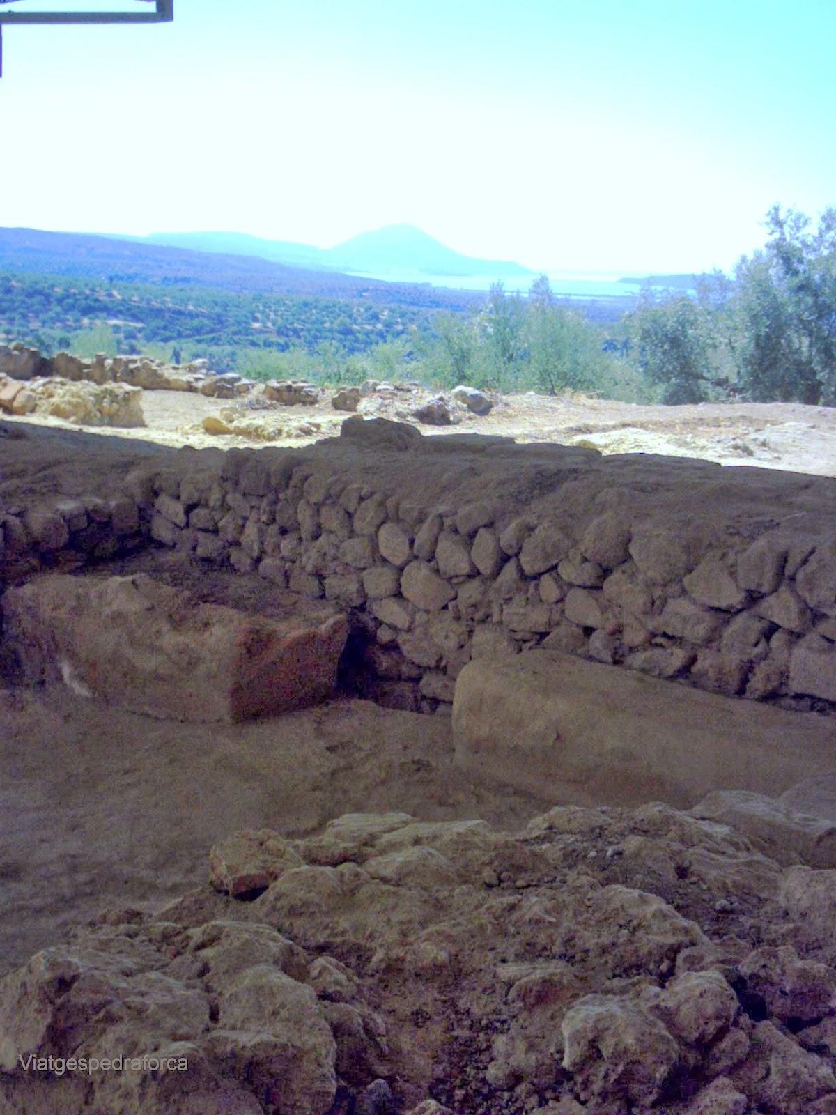 Pilos, Civilització Micènica, Grècia, Peloponès, Palau de Néstor