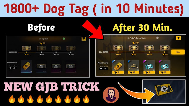 How to increase dog tags in free fire