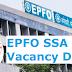 EPFO SSA 2019 Vacancy Details - Check Here Region-Wise Vacancies
