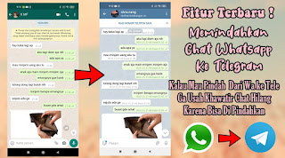 Cara Memindahkan Chat Whatsapp Ke Telegram