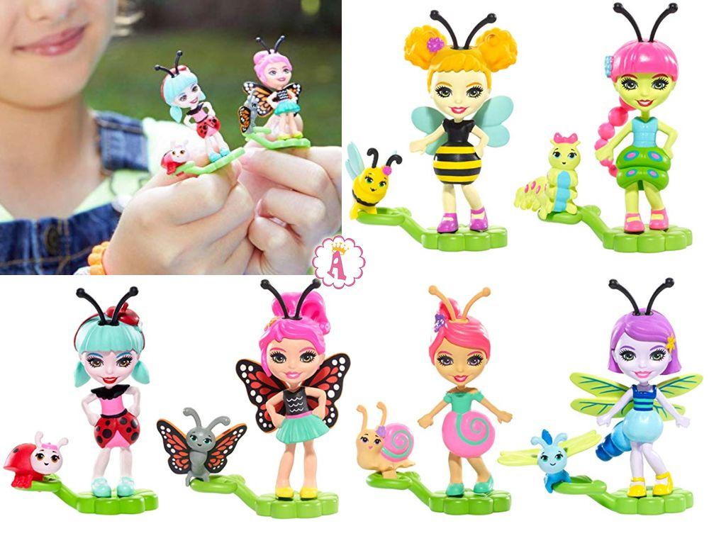 Имена мини кукол Enchantimals Bug Buddies names