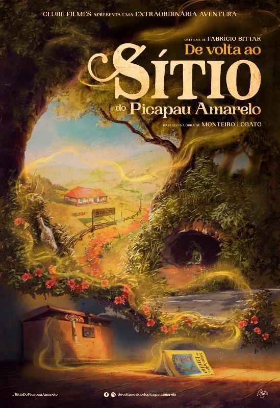 Clube Filmes divulga cartaz oficial do longa 'De volta ao Sítio do Picapau Amarelo'