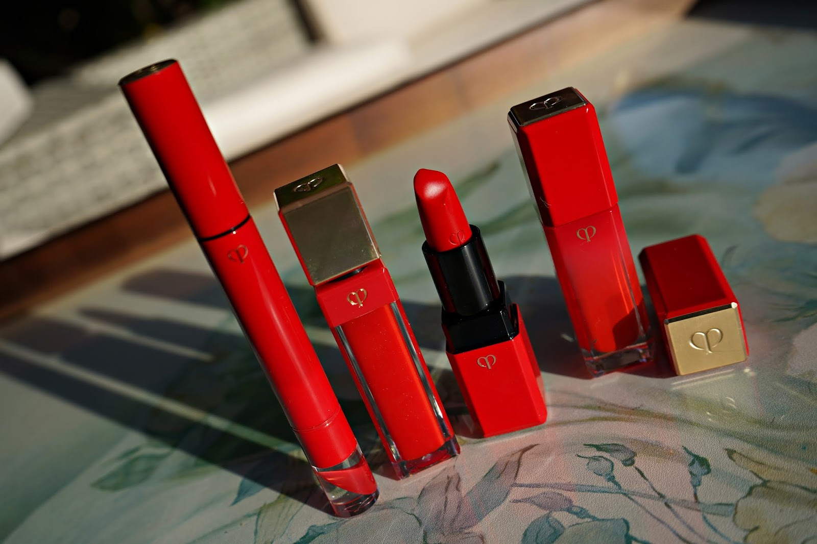 cle de peau legend lip color collection swatches