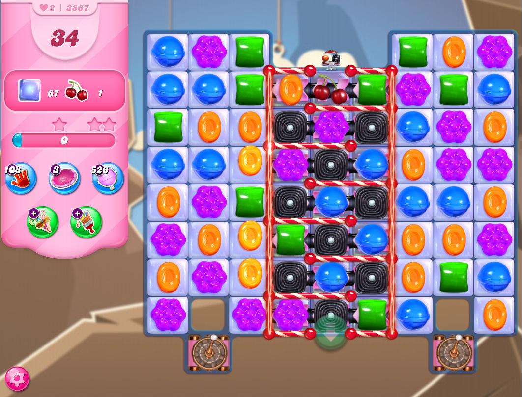 Candy Crush Saga level 3867