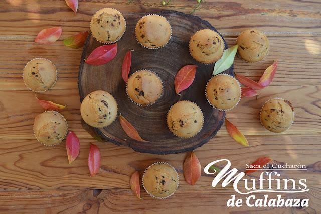 Muffins de calabaza, Saca el Cucharón
