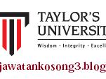 JAWATAN KOSONG TERKINI TAYLOR'S UNIVERSITY 01 JANUARY 2017