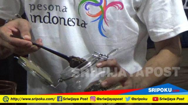 Duta, Perkenalkan Kopi Lokal Di Festival Kopi Griya Agung Palembang