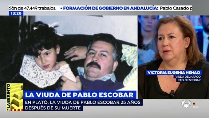 WAOO QUE ENTREVISTA : La viuda de Pablo Escobar rompe el silencio 25 años después | Para Un Nuevo Día | Telemundo