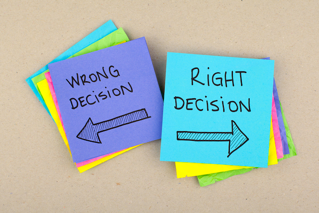 How to Make The Right Decision Or Choice in Life