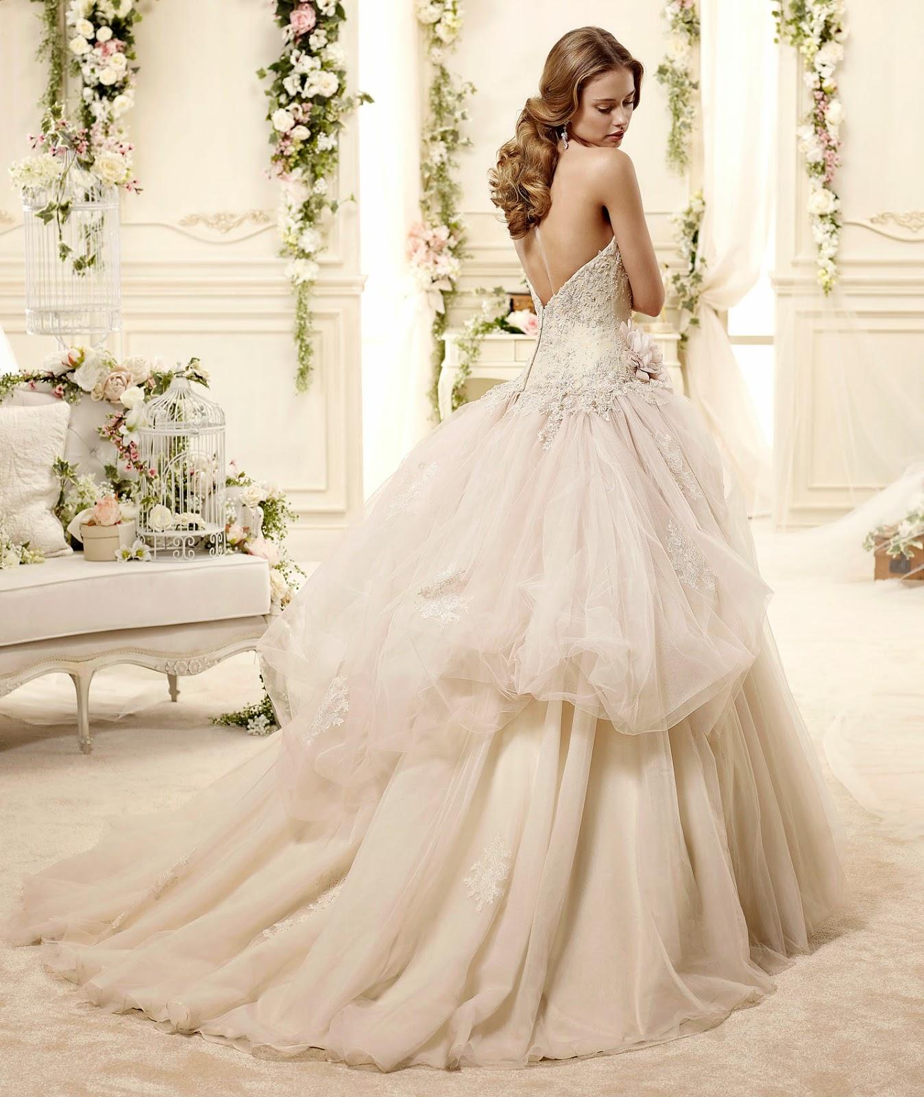 abiti da sposa 2015 collezione Colet per matrimoni romantici
