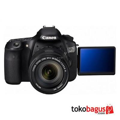 Camera DSLR Canon 60D - Second Place