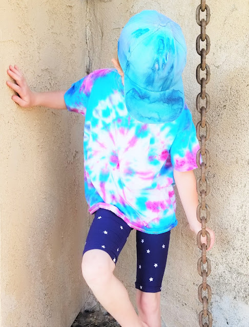 how to do tie dye shirts