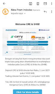 Horeee... Shiba Inu (SHIB) Listing di Indodax