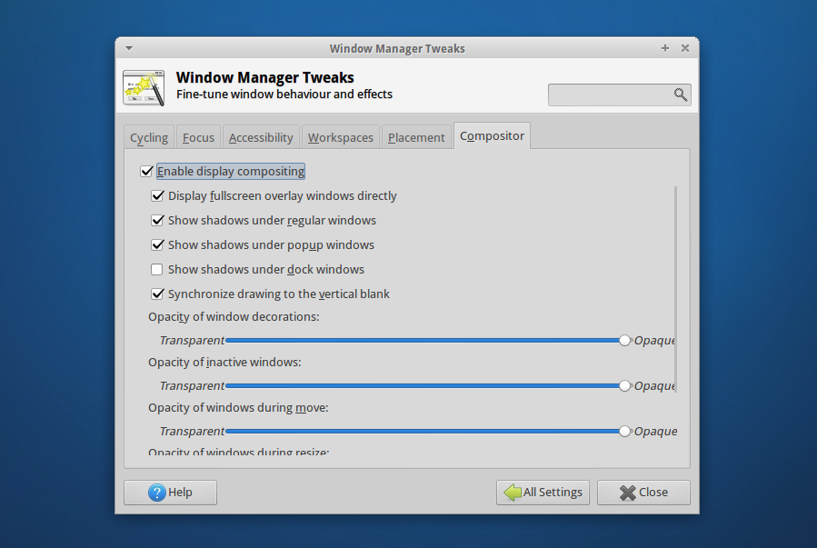 Xfce: Sync To VBlank Support For The Xfwm Compositor [PPA