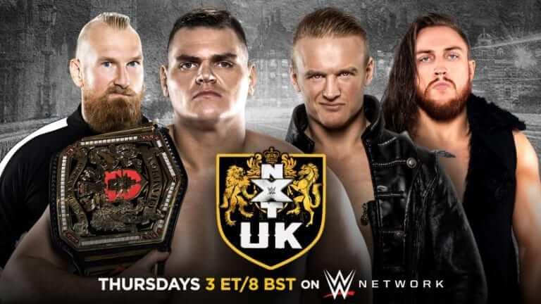 عرض NXT UK الاخير 15/10/2020 كامل