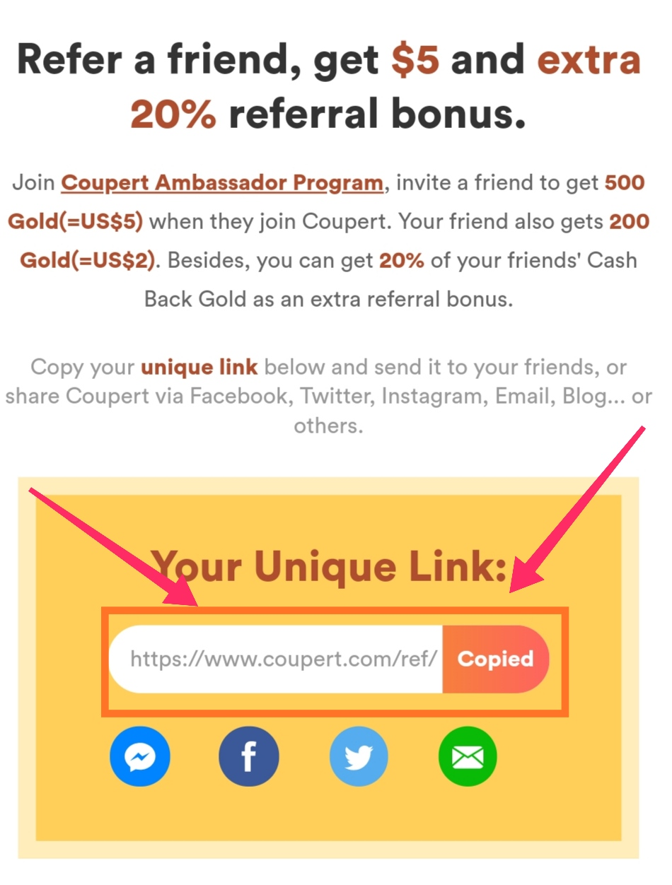 Coupert Offer | Earn upto $80 [₹6000]  by refer a friend