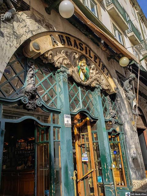 Café a Brasileira - o que  fazer em Lisboa