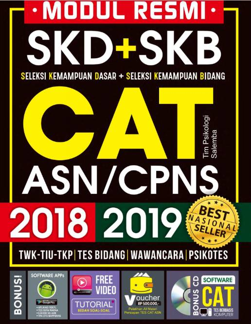 Buku Tes CPNS 2019 dengan Kunci Jawaban