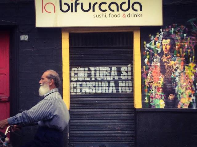 Fachada La Bifurcada Pub Tarija