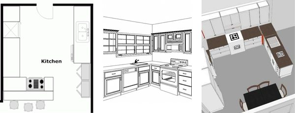 Nice Kitchen Layouts