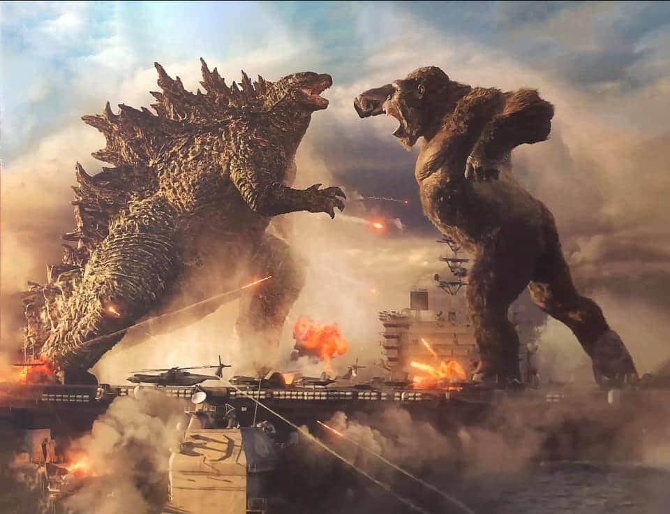 Godzilla vs Kong | Imagem conceitual é revelada