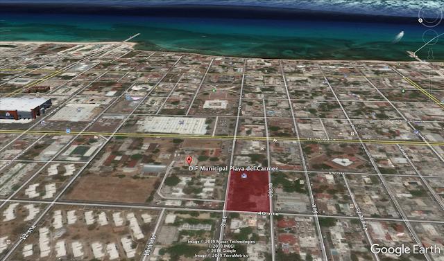 Se vende terreno en Playa del Carmen Mexico