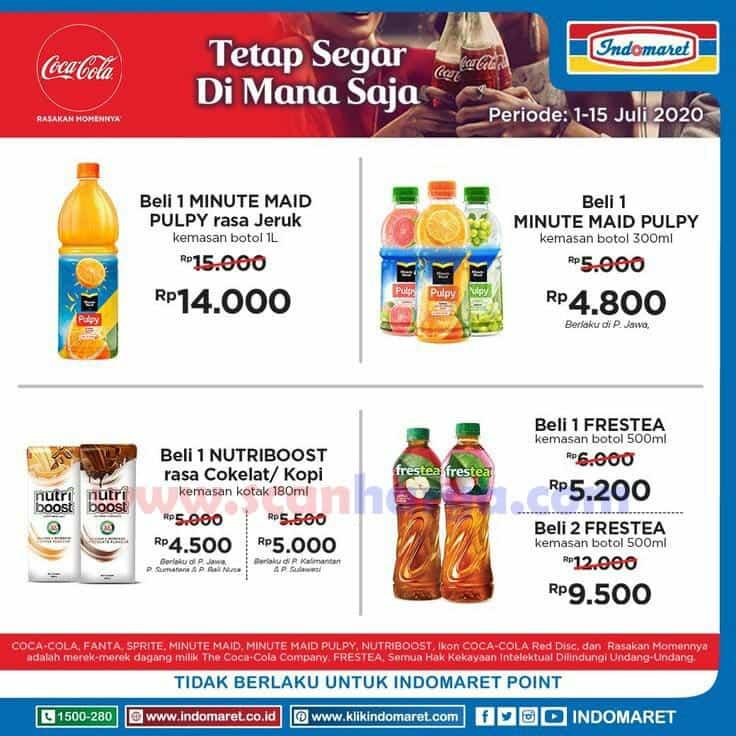 Promo Indomaret Harga Spesial Produk Coca Cola Periode 1 - 15 Juli 2020 2