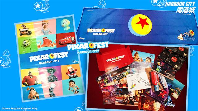 彼思動畫35周年-Pixar Fest紀念品-香港海港城-迪士尼與彼思電影-Harbour-City
