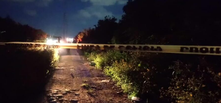 Tras reporte de detonaciones, hallan a tres personas ejecutadas y a una más herida en Cancún