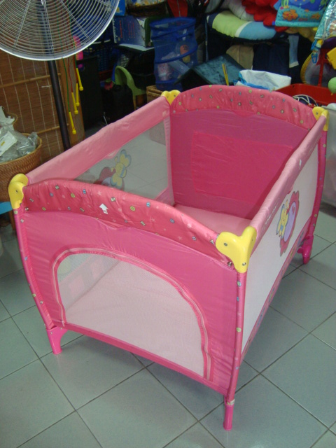 Baby Playpen With Canopy Preloved Toysworld Thetottoys Lucky Baby Travel Playpen