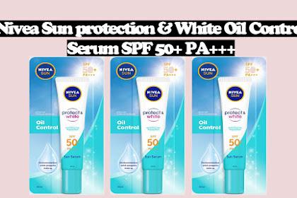 Nivea Sun protection & White Oil Control Serum SPF 50+ PA+++